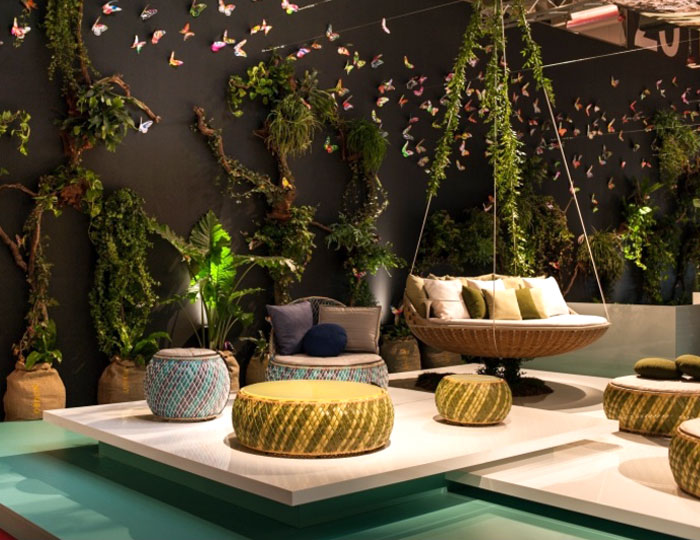 Modern Outdoor Furniture and Shadings from Salone del Mobile 2014 – InteriorZine