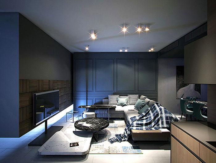 Modern Urban Home Design by Andrey Dmitriev – InteriorZine