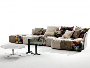 Modular Upholstered Sofa by Sergio Bicego – InteriorZine