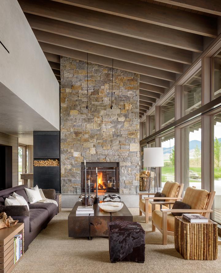 Montana Ranch House by Suyama Peterson Deguchi