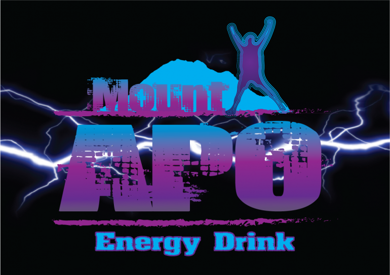 Logo Design – Mount APO Energy Drink