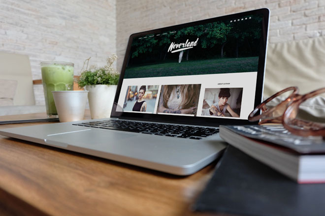 Neverland : Free Responsive Personal WordPress Theme