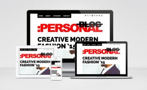 Personal Blog – Responsive WordPress Theme