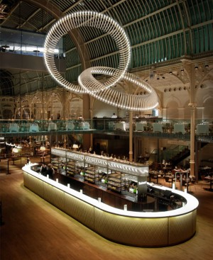 Sculptural Light Installation for Public Areas – InteriorZine