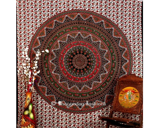 Multicolor Indian Wall Tapestry From India