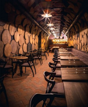 Shustov Brandy Bar Decor by Denis Belenko Design Band – InteriorZine