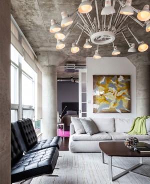 Small but Attractive Modern Loft in Toronto – InteriorZine