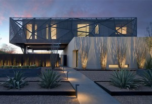 Spectacular Luxury Desert House – InteriorZine
