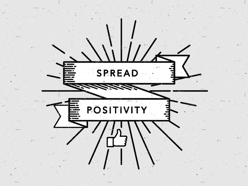 Spread positivity illustration by Jenna Bresnahan