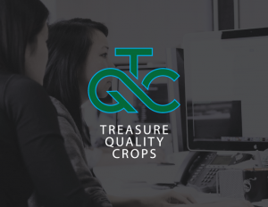 Logo Design for Treasure Quality Crops