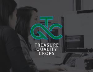 Logo Design for Treasure Quality Crops