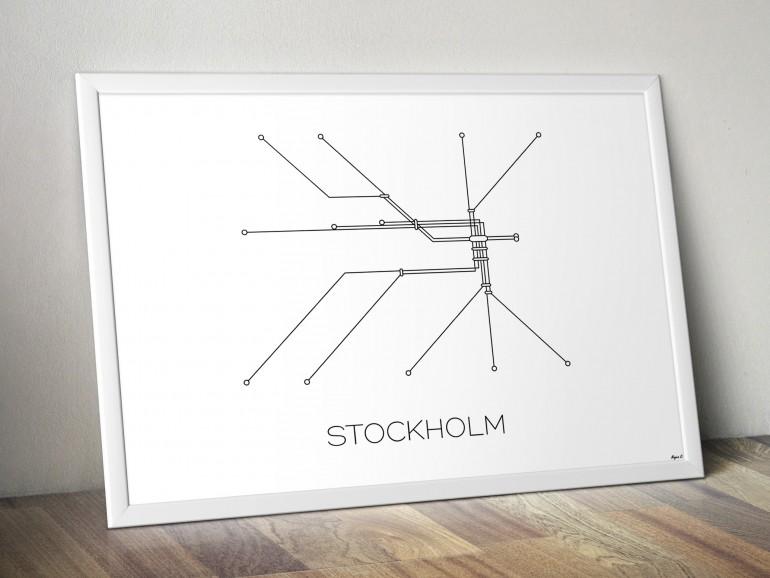 Stockholm Subway Map