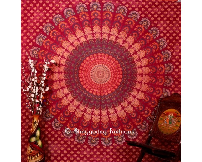 Mor Pankh Design Cotton Tapestry