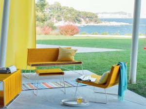 Sunny Yellow Outdoor Furniture Collection – InteriorZine