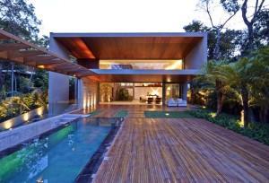 Tropical Garden Residence in Brazil – InteriorZine