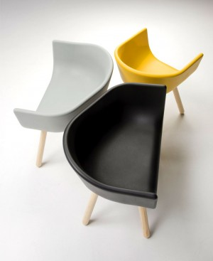 Tulip Multifunctional Armchairs by Chairs & More – InteriorZine