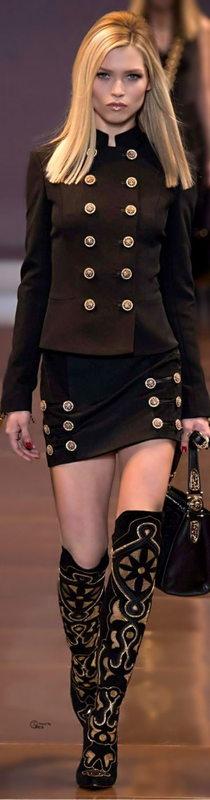 Versace ● Fall 2014 | Fashion & Glamour & Luxury | Pinterest | Versace, Couture Dresses ...