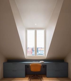 Note Design Studio's – Renovation of this 1930s loft apartment in Sweden.