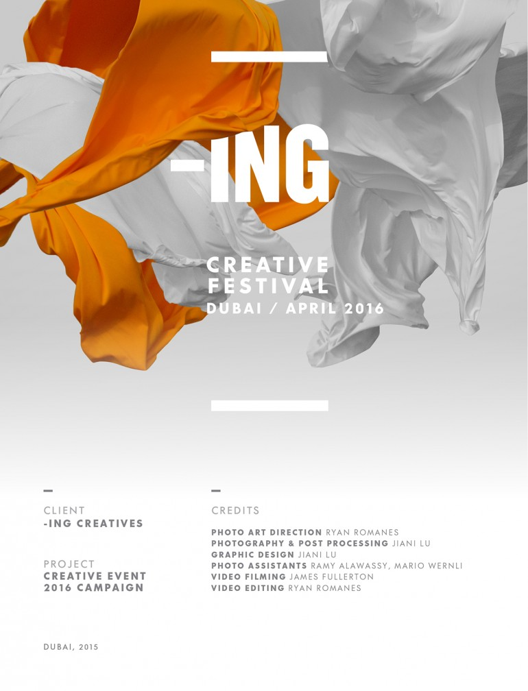 -ING 2016 Creative Event Campaign