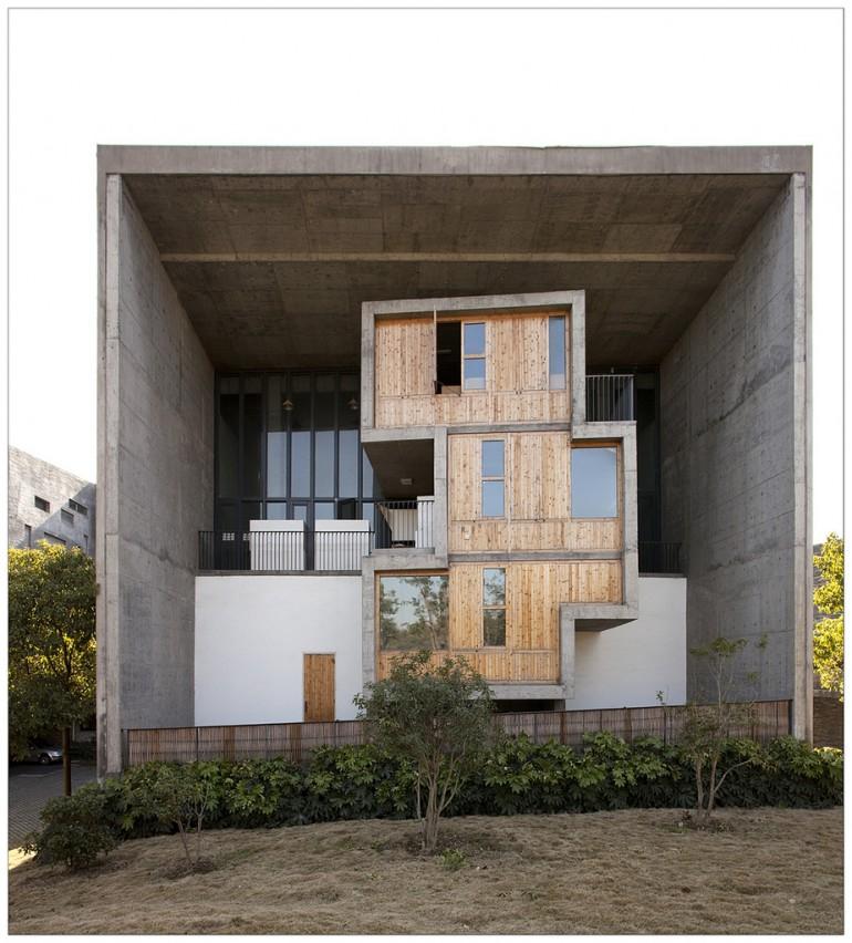 China Academy of Art, Xiangshan Campus. Wang Shu (Amateur Architecture Studio), 2007. Hangzhou,  ...