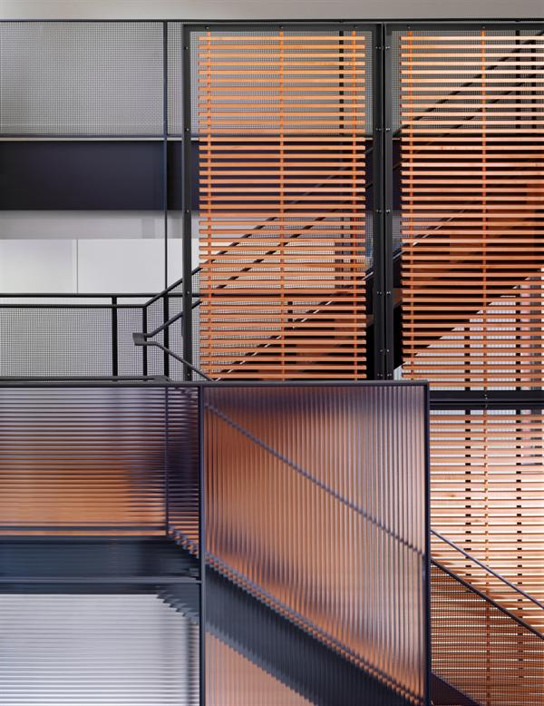 living | stair detail ~ destefano and partners architects