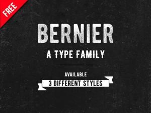 Bernier : Free Retro Look Font Family