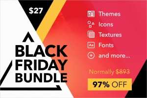 Black Friday Bundle: 10 Creative Products for your Designer Toolkit