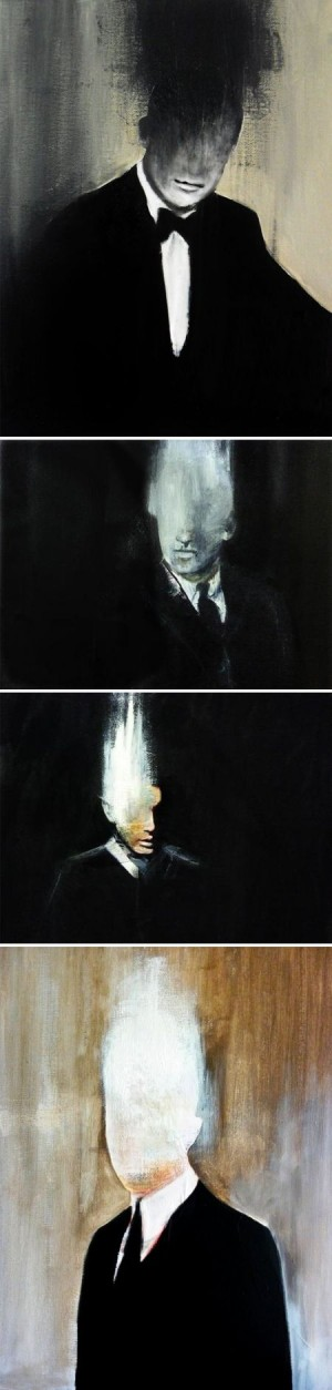 Carole Bremaud | Painting | Pinterest | Slender Man, Francis Bacon and Faces