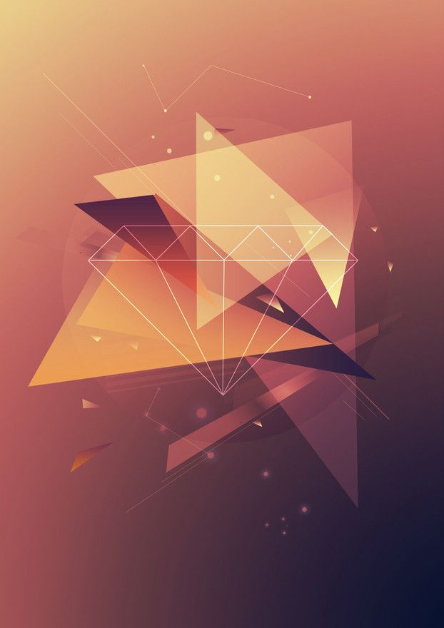 Daily Inspiration #915 | Geometric Poster, Geometry and Shape