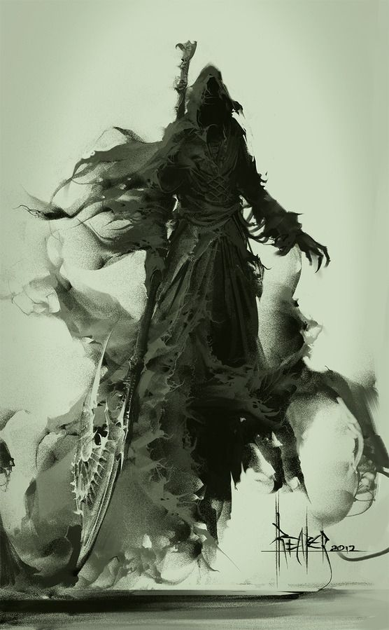 Death and Fear of Death | Grim Reaper, Death and Concept Art