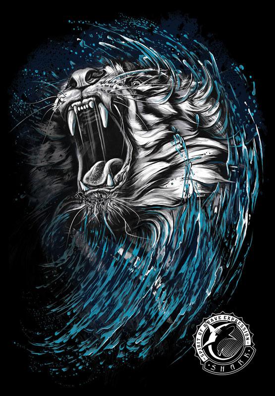 Print design – Tiger