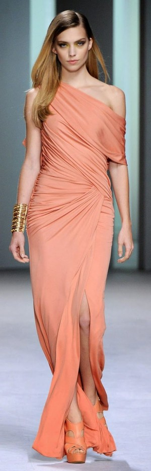 Elie Saab coral color dress. | Fashion | Pinterest | Elie Saab, Coral Color and Coral