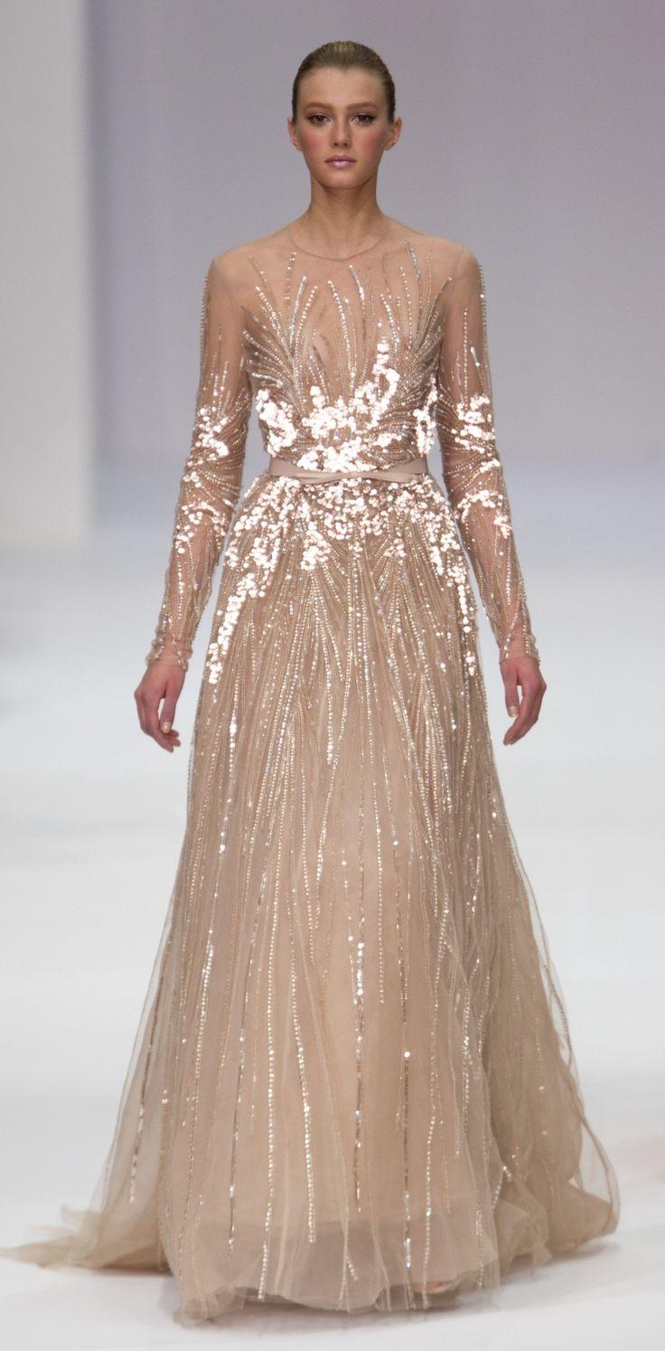 Elie Saab Paris Haute Couture Fashion Week 2012 | Embroidery | Pinterest | Elie Saab, Paris Fash ...