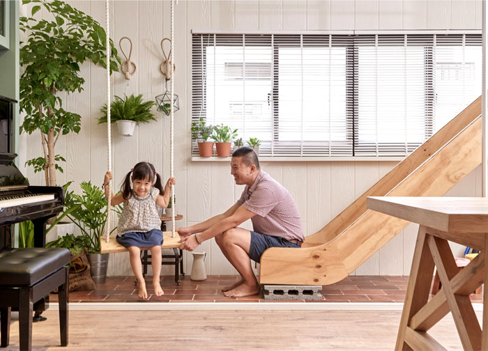 Family Playground – Interior Renovation by HAO Design – InteriorZine