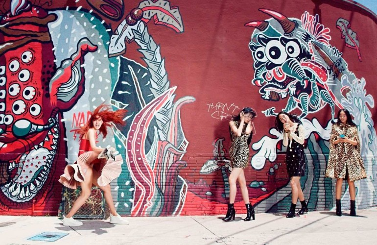 Fashion Photography by Elaine Constantine