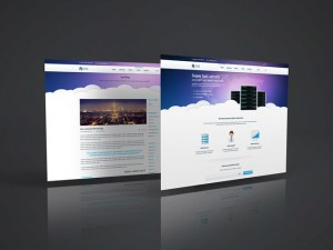 Free 3D Website Display Mockup