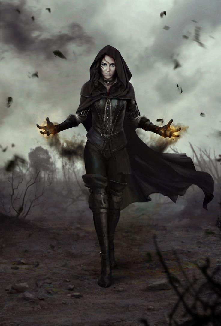 Hagwren | MAGICAL/Fantasy | Pinterest | Wild Hunt, Hunt's and Necromancer