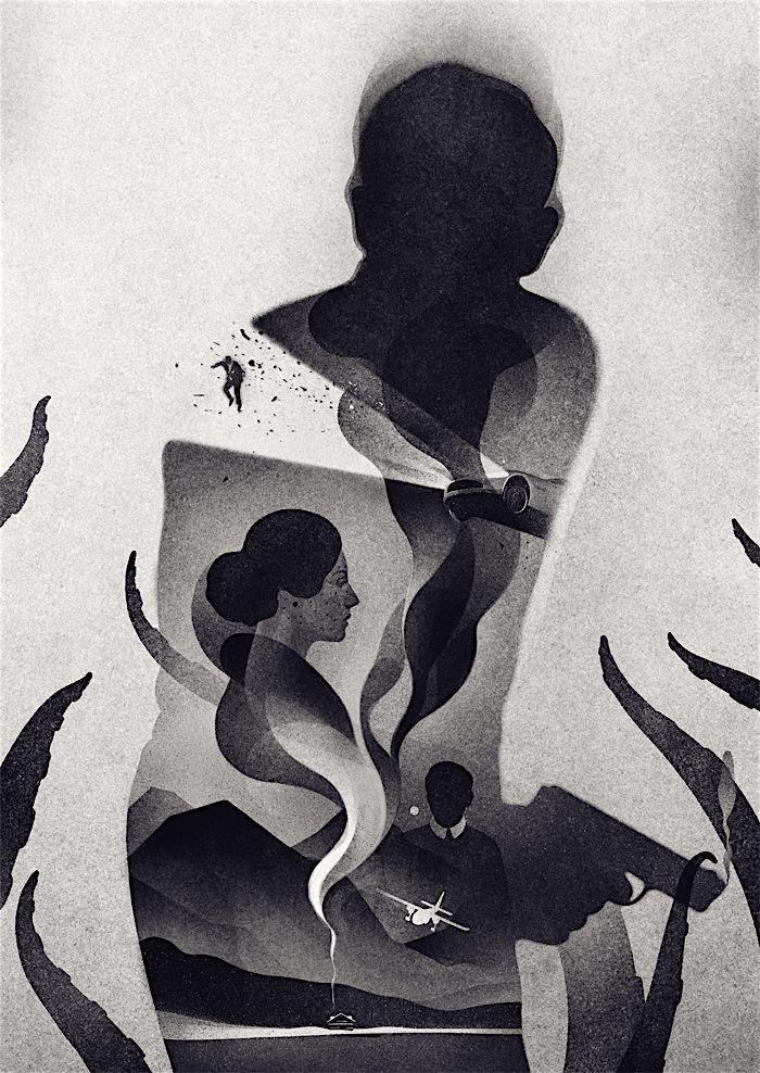 https://www.behance.net/gallery/30809765/007-Spectre?utm_medium=email | Illustration | Pinterest ...