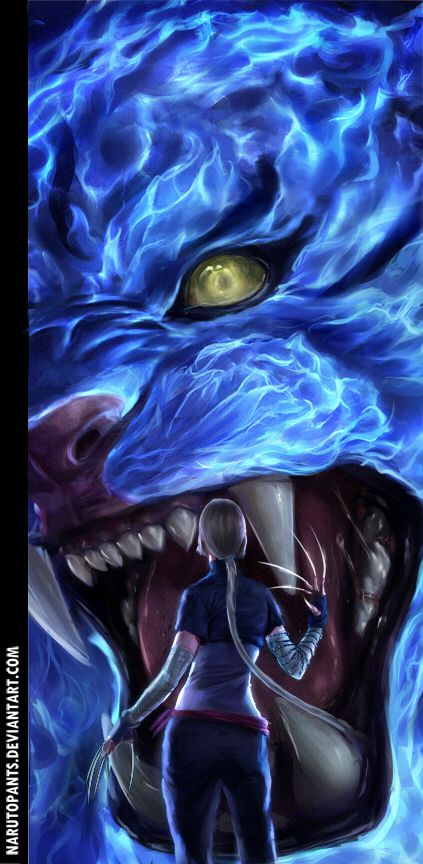 I like the colors and the beast | Naruto | Pinterest | Naruto, Deviantart and Anime