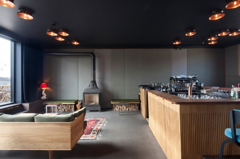 1970 Industrial Building Transformed into a Hotel in Munich