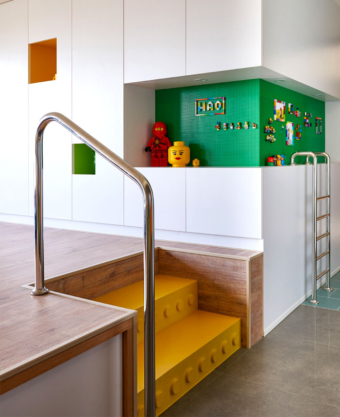 LEGO Playground Interior by HAO Design – InteriorZine