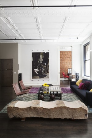 Mercer Street Loft – celebrates both classic, historical elements and modern twists