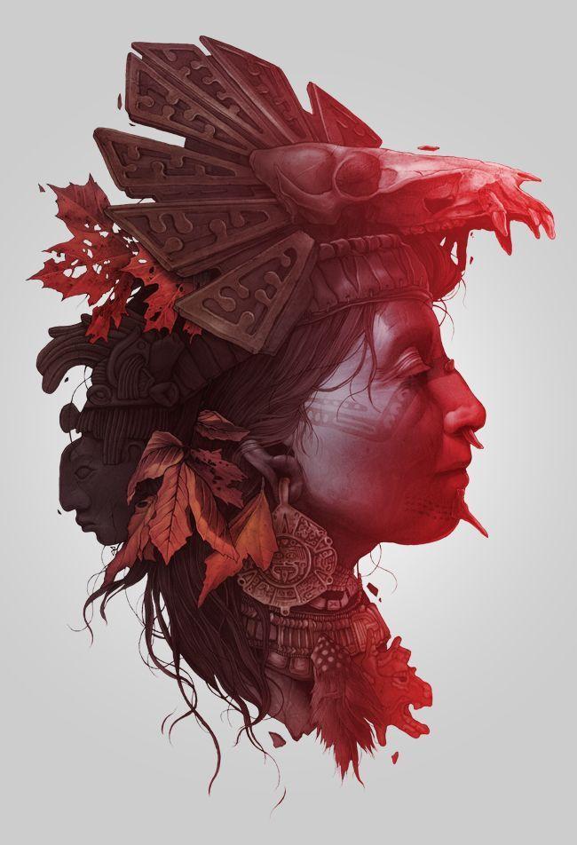Mind blowing illustration!! #jablonskimarketing #marketing #design #painting #art #creativity    ...