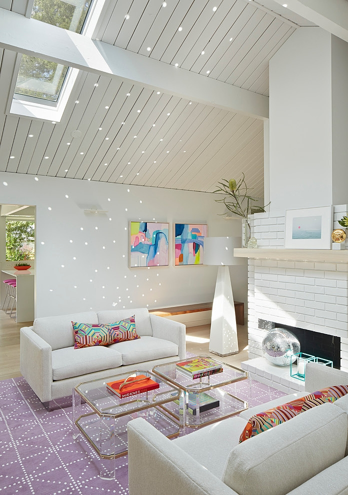 Minimal Modern Design Meets Disco in This Palo Alto Eichler House on Inspirationde