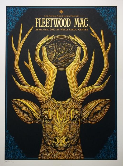 Todd Slater's Fleetwood Mac Poster