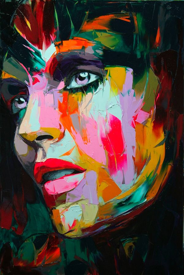 Paintings by Françoise Nielly | Painting, Oil and Colorful Paintings
