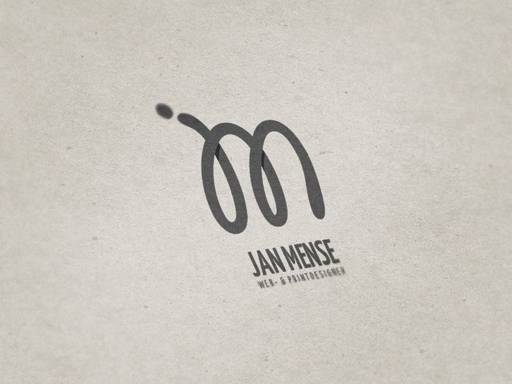 Personal logo design for Jan Mense