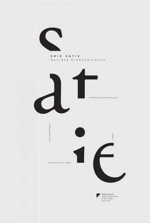 Erik Satie poster – Valerie Pilotte