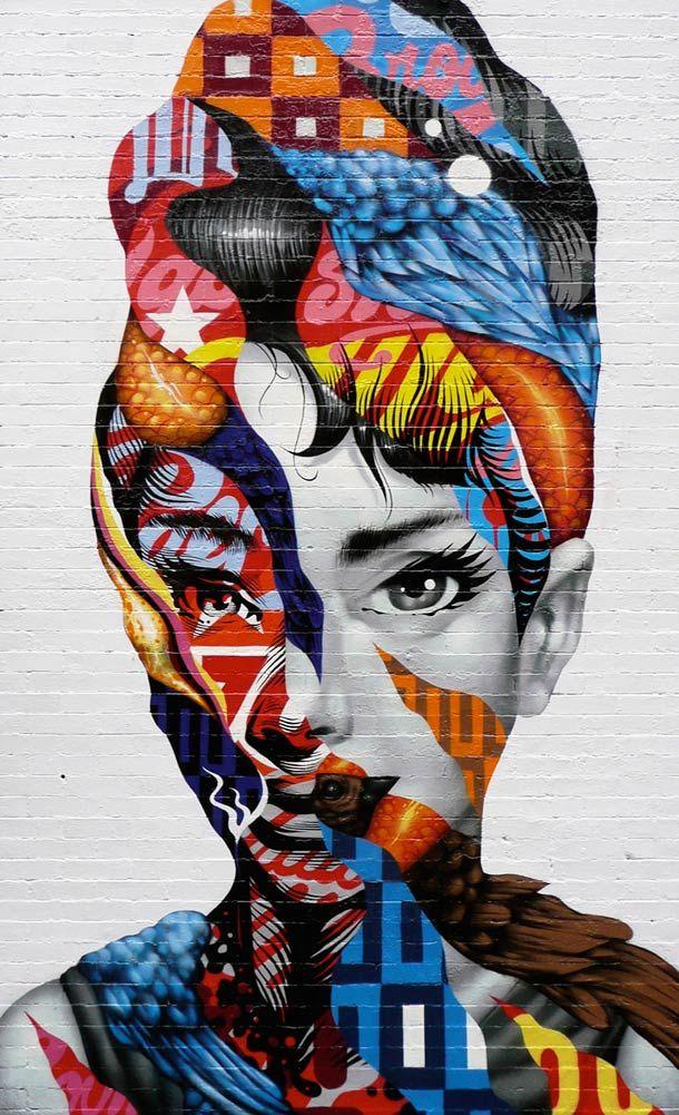 REVOLT – Les créations Street Art de Tristan Eaton | Street Art | Pinterest | Street Art, Little ...
