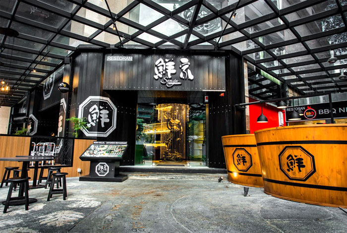 Senya Restaurant by Idbox – InteriorZine